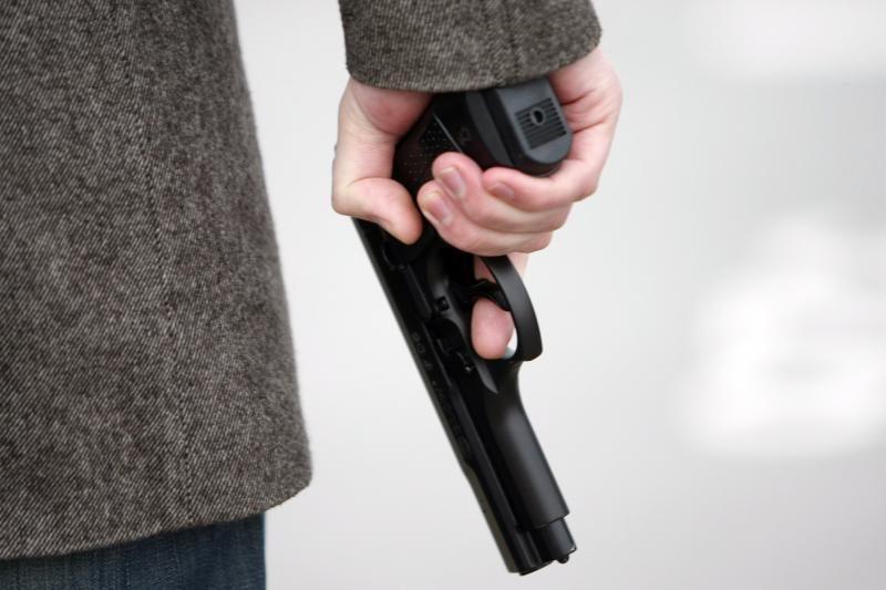 Vilnietis tvarkydamas garažą rado šaunamąjį ginklą