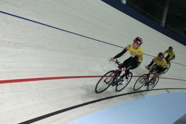 Svajūnui Jonauskui – Europos jaunių dviračių treko čempionato sidabras
