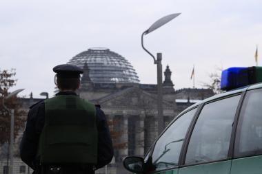 Teroristai taikiniu pasirinko Reichstagą