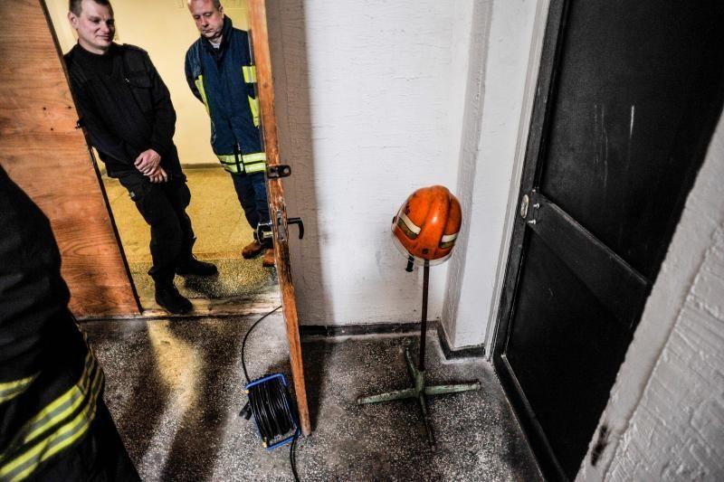 Komisija: gyvsidabris Ukmergės teisme - ekstremalus įvykis