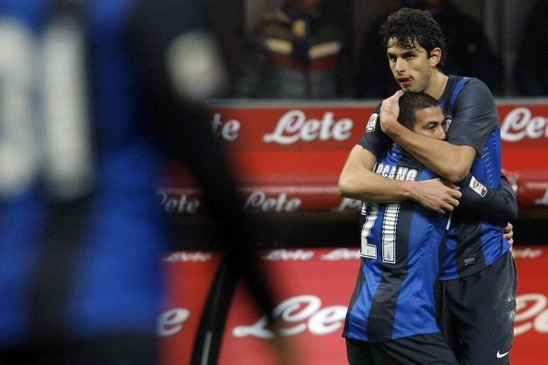 """Reto grožio rungtynėse """"Inter"""" po pratęsimo nukovė """"Bologna"""""""