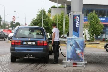 Kaimynų benzinas pigesnis
