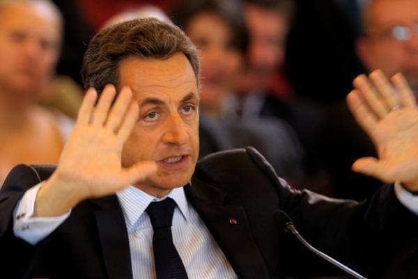 Nicolas Sarkozy apsauga rūpinsis dešimt policininkų