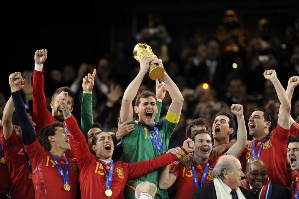 Simbolinėje pasaulio čempionato rinktinėje - šeši ispanai