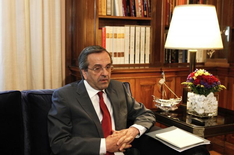 """A.Samaras ragina sudaryti """"nacionalinį susitarimą"""" dėl vyriausybės"""