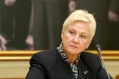 Seimo pirmininkė: prie mokesčių politikos bus grįžtama