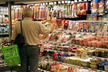 Statistika: septintą mėnesį iš eilės kyla maisto produktų kainos