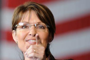 S.Palin knyga kursto gandus apie jos prezidentines ambicijas
