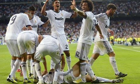 "Madrido ""Real"" antroji pergalė Ispanijos futbolo čempionate"