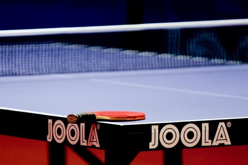 Lietuvos stalo teniso čempionais tapo I.Venslavičiūtė bei A.Udra
