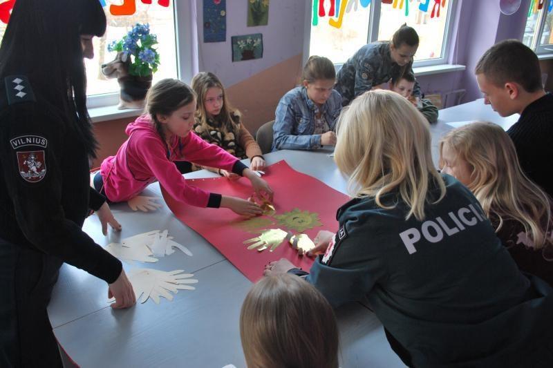 Vilniaus policijos klubas - vaikų nusikalstamumui mažinti