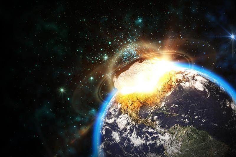 NASA nustatė galimo susidūrimo su milžinišku asteroidu datą