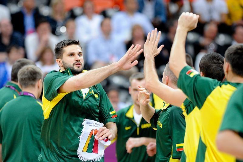 Lietuvos krepšinio rinktinė Europos čempionate žais vėlai vakare