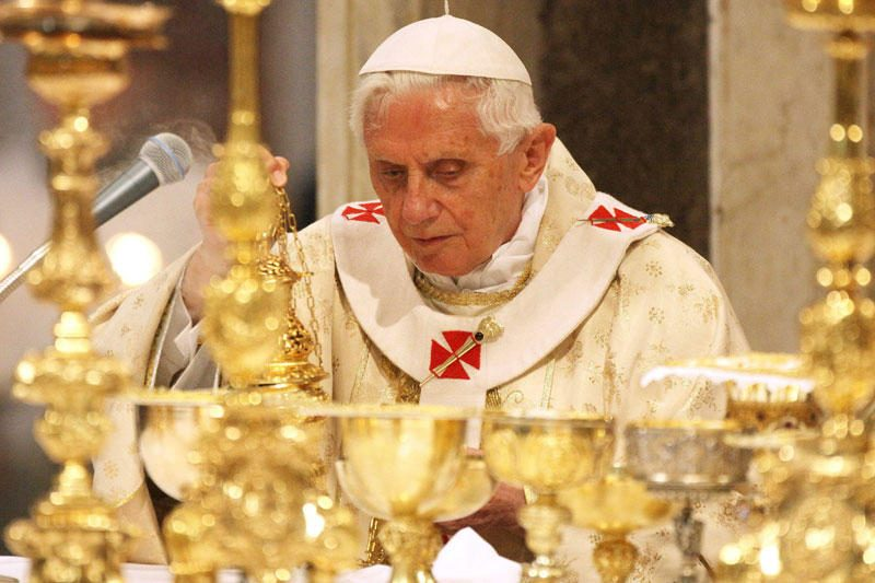 Popiežius mini Didįjį penktadienį Bažnyčiai neramiais laikais