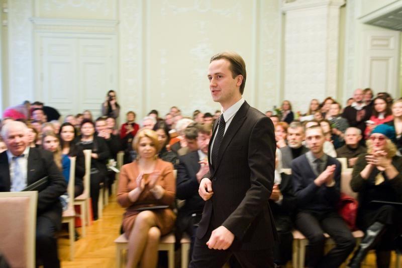 Kultūros viceministru paskirtas pianistas D. Mažintas