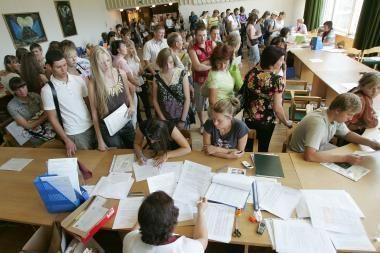 Sutartis valstybės remiamoms paskoloms gauti sudarė 80 proc. jas galinčių gauti studentų