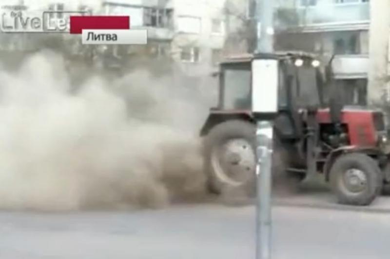 Kauno komunalininkams – Rusijos televizijos pašaipos
