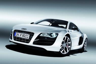 """Žvėriškas """"Audi R8 5.2 FSI quattro"""