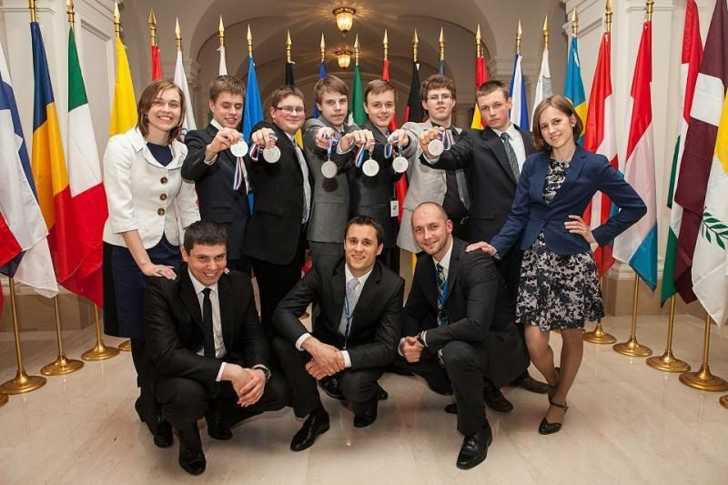 Tarp mokslų olimpiados medalininkų - klaipėdietis