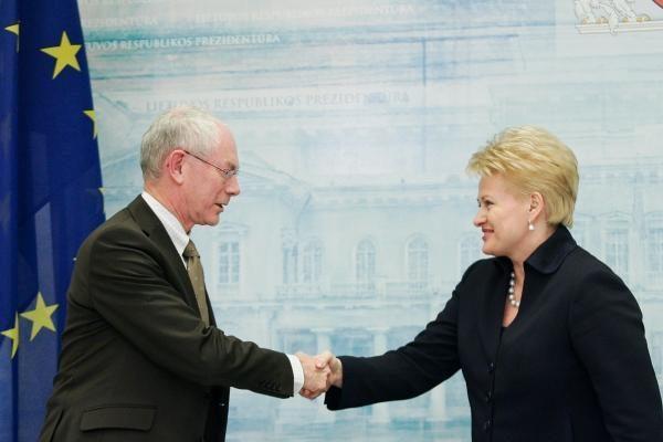 Ar D. Grybauskaitė turi šansų tapti ES prezidente?