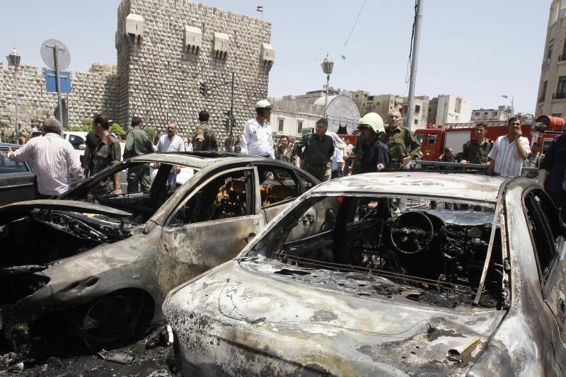 Sirijos sostinėje prie Teisingumo rūmų susprogdintos dvi bombos