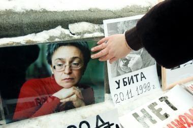 Belgijoje ieškoma įtariamo žurnalistės A.Politkovskajos žudiko