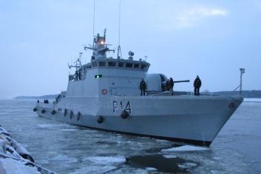Naujas Karinių jūrų pajėgų laivas jau Klaipėdoje