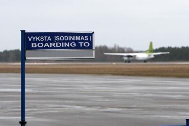 Palangos oro uoste atšaukti aštuoni skrydžiai (papildyta)