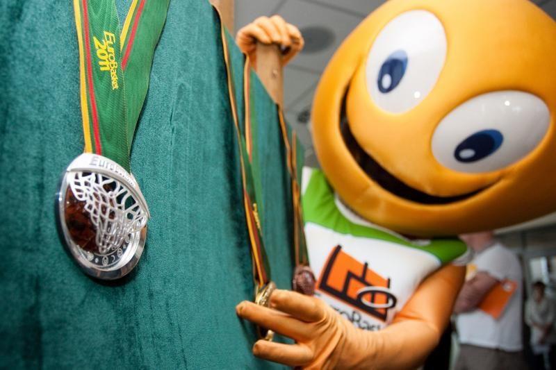 """""""EuroBasket 2011"""" pajamos – beveik 35 mln. litų"""
