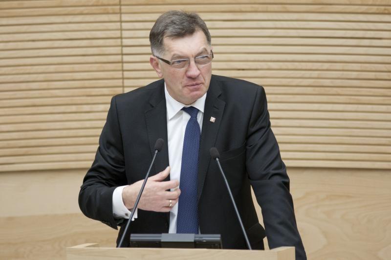Premjeras tikisi, kad koalicijoje nebebus diskutuojama apie DP bylą