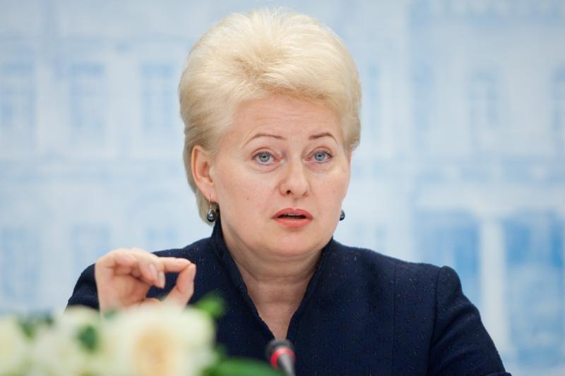 Seimo politikai ima maištauti prieš Prezidentę