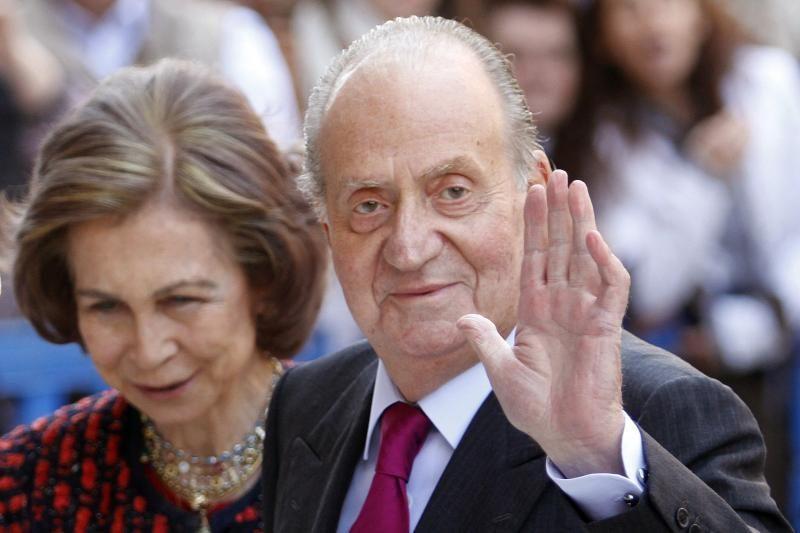 Ispanijos karaliui pakeistas klubo sąnarys