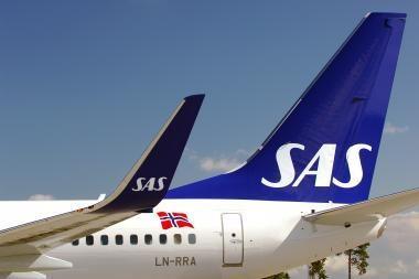 SAS iš Palangos į Kopenhagą skraidins 19 kartų per savaitę