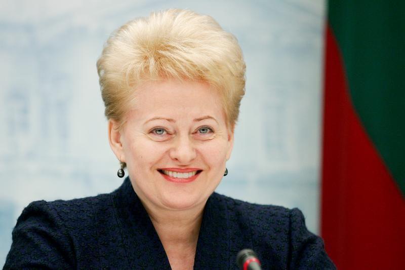 D.Grybauskaitė nekomentuoja V.Adamkaus dienoraščių, linki sveikatos
