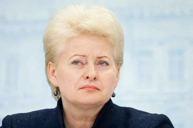 Prezidentė: eurogrupės formatas tik laikinas