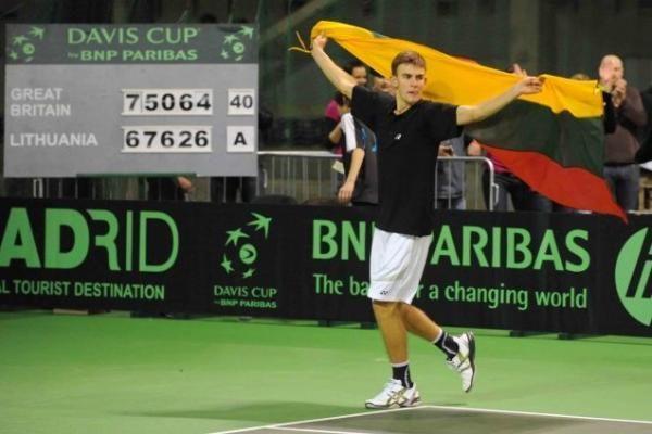 Airijos ir Lietuvos tenisininkų dvikovos televizijos netransliuos