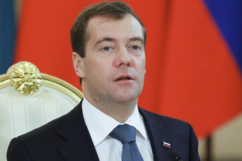 D.Medvedevas suteikė malonę tik vienam opozicijos protestuotojui