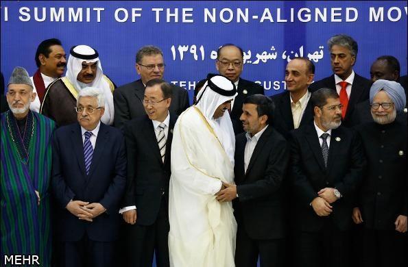 Irano ir Egipto vadovai kalbėjosi pirmą kartą susitikę akis į akį