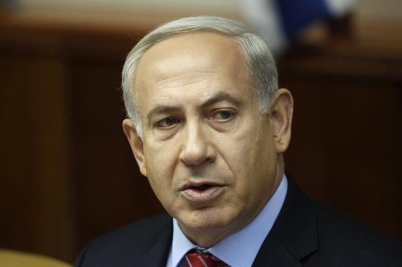 """Izraelio premjeras Netanyahu reikalauja nubrėžti """"raudoną liniją"""""""