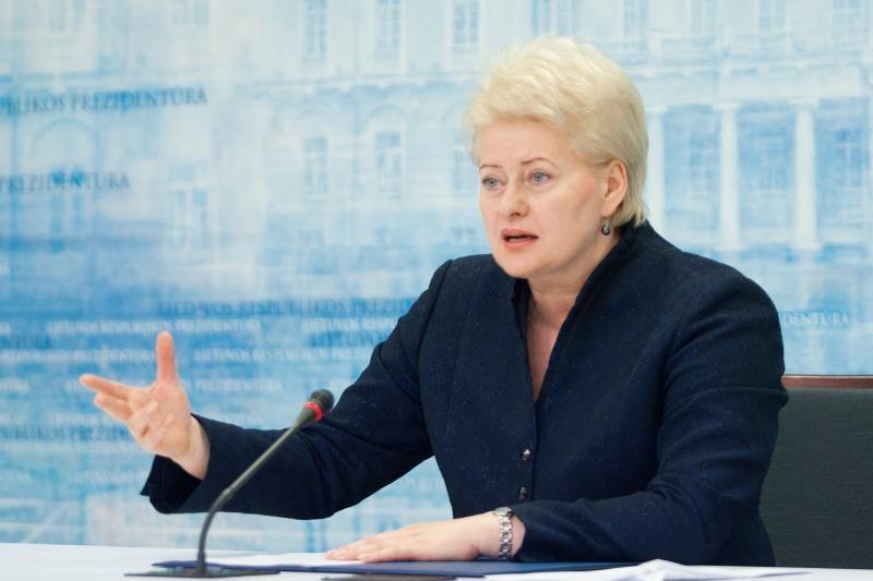 D.Grybauskaitė: SGD terminalas - absoliutus nacionalinis prioritetas