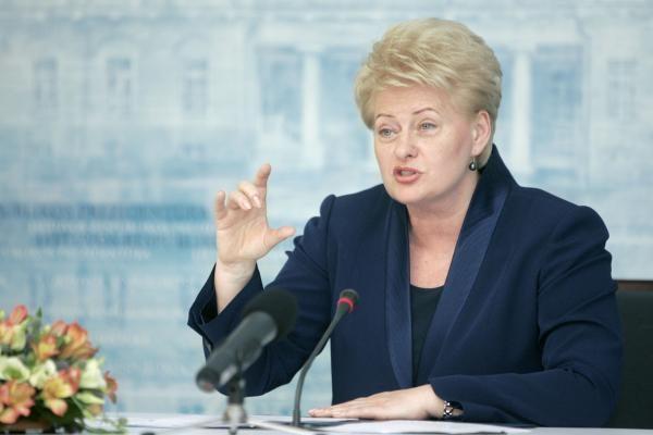 Prezidentė teigia remianti energetikos ministrą A.Sekmoką