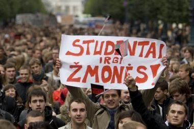 Studentų sąjungos darbuotojų išlaikymas per metus kainuoja per 200 tūkst. litų
