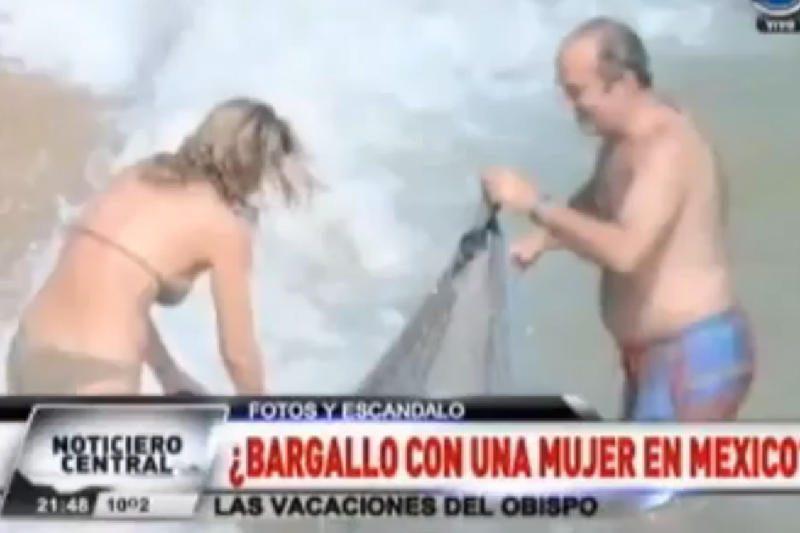 Argentinoje dėl pikantiškų paplūdimio nuotraukų atsistatydina vyskupas