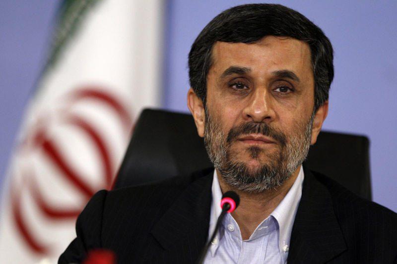 Irano prezidentas Ahmadinejadas pasmerkė Vakarų šalis
