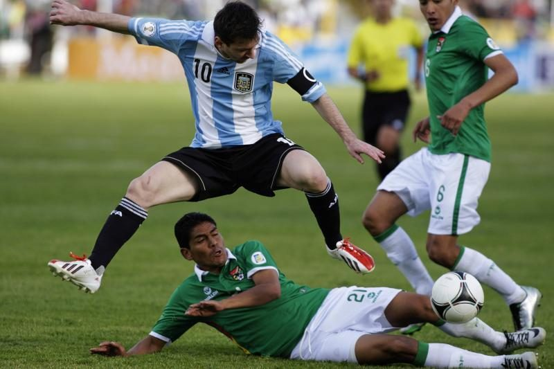 Argentina su L. Messi neįstengė įveikti Bolivijos (rezultatai)