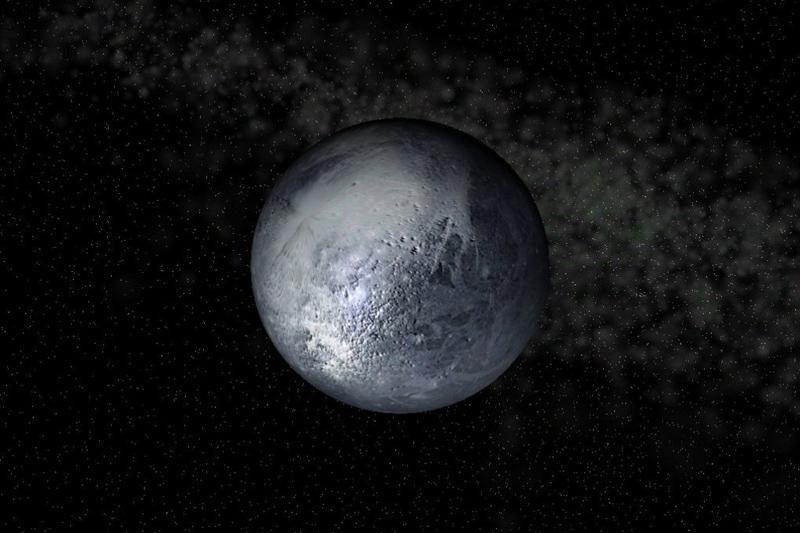 Už Plutono esanti nykštukinė planeta neturi atmosferos