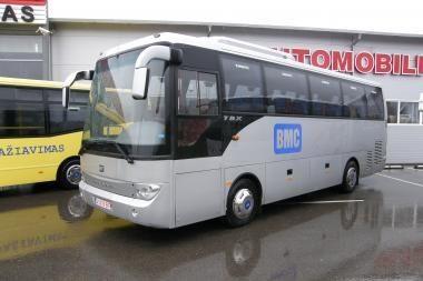 Lietuvoje - turkiški autobusai