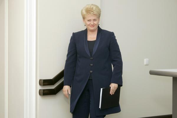 D.Grybauskaitė Lenkijoje priminė vienybės svarbą