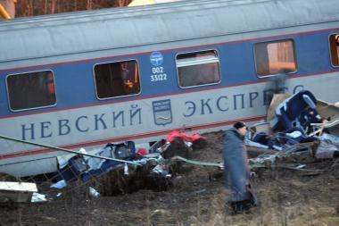 Rusijoje sudarytas įtariamojo traukinio sprogdinimu fotorobotas