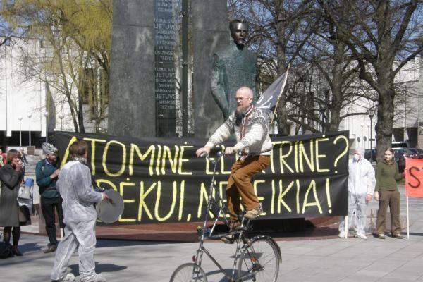 Vilniuje organizuojami renginiai prieš atominių elektrinių statybas